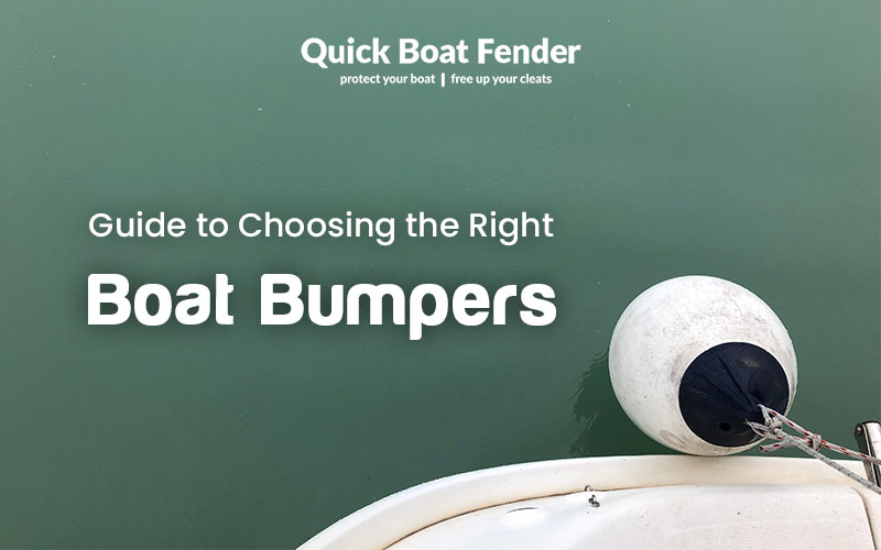 Your basic guide to selecting the right boat fenders
