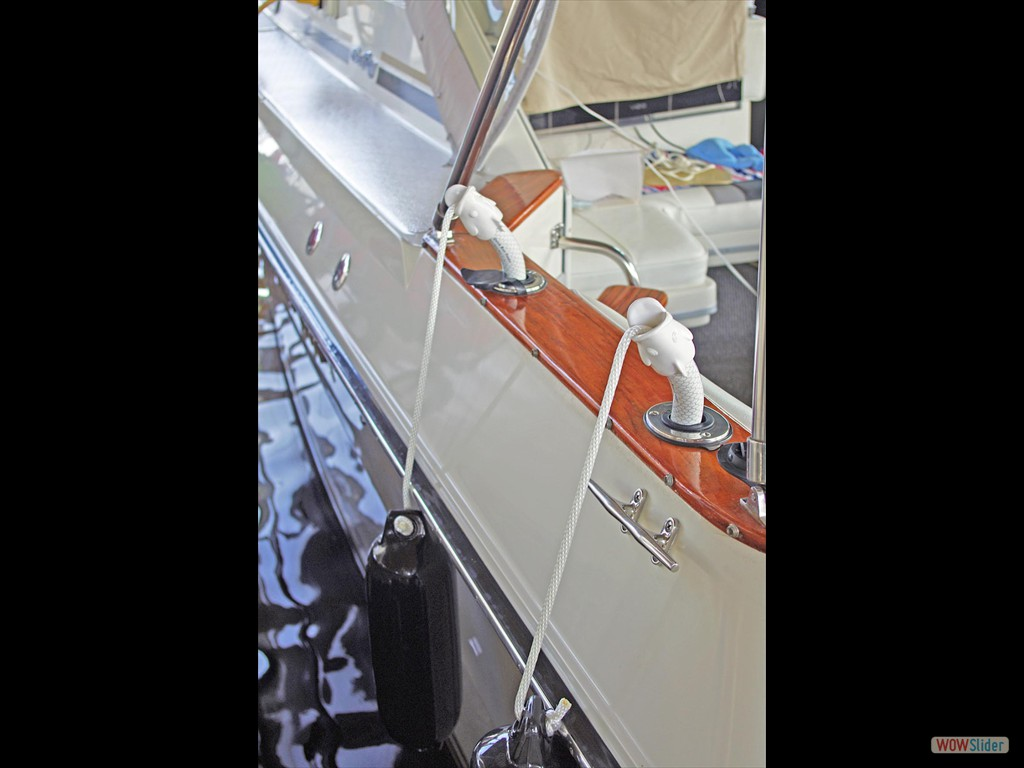 Protect your boat at the dock with Quick Boat Fender